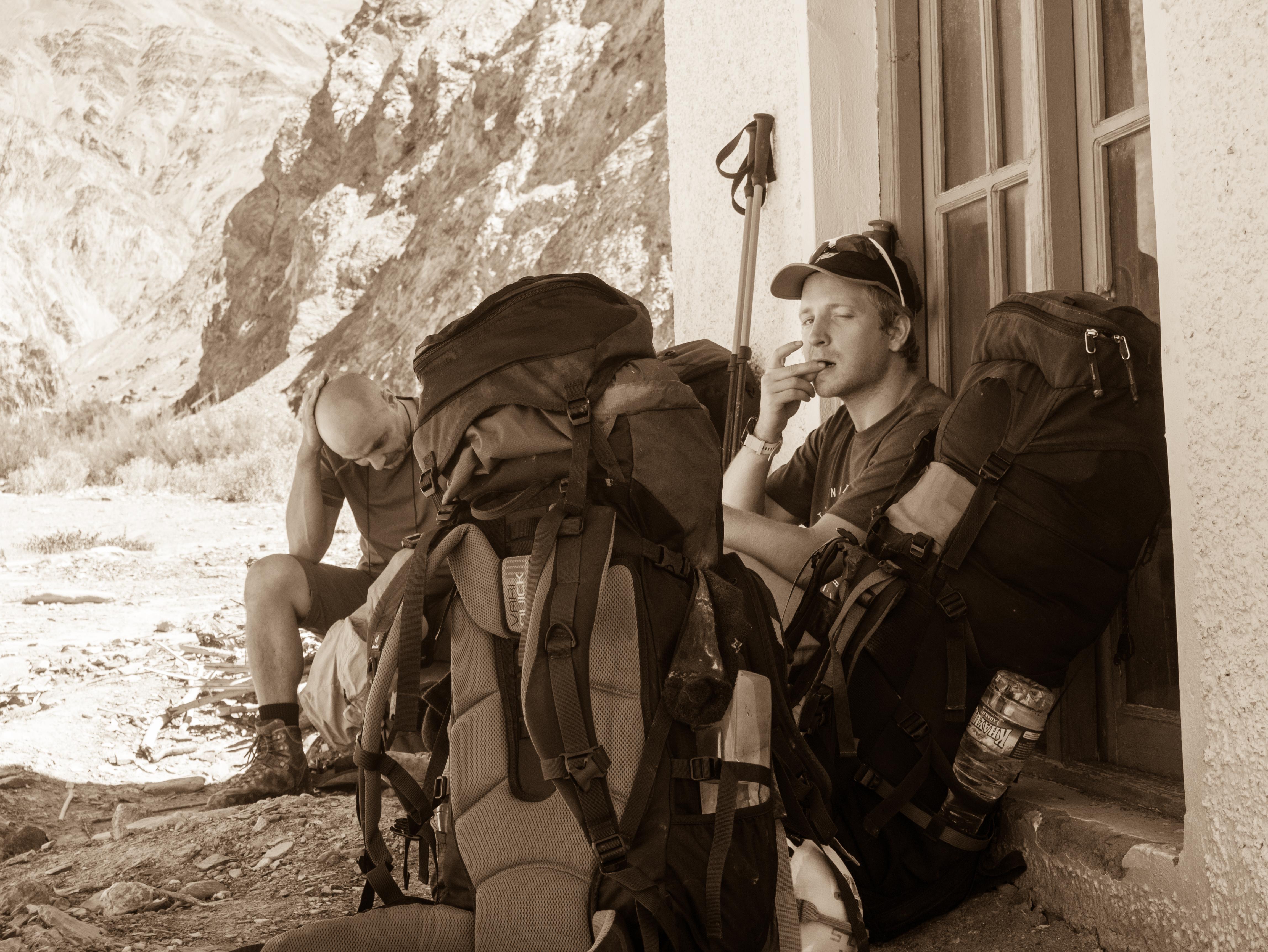 252deb086944d Drugi dzień trekkingu jest najbardziej męczący. Przewyższenia niewiele -  ok. 400 metrów